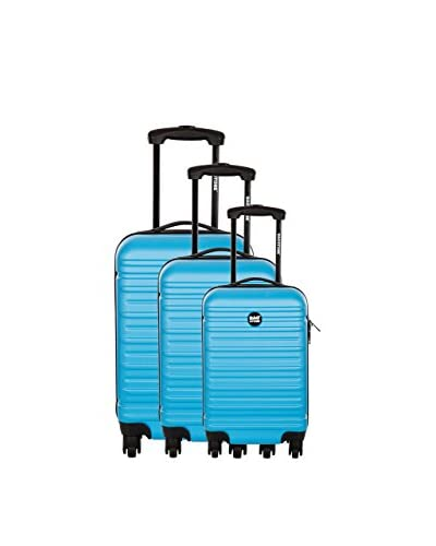 BAGSTONE Set 3 Trolley Rigido Diamond