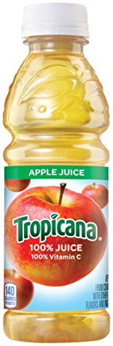 Tropicana Apple Juice, 10 Ounce (Pack of 24) (The Juice Standard compare prices)