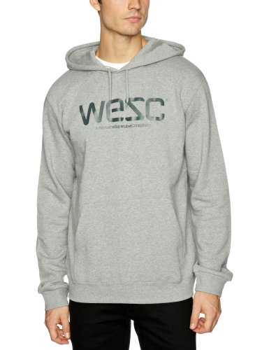 Wesc C40172 Men's Sweatshirt Grey Melange Medium