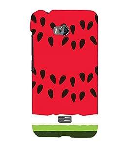 EPICCASE Watermelon Case Mobile Back Case Cover For Micromax Q336 (Designer Case)