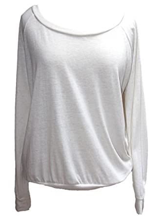 YogaColors Black Heart Tri-Blend Light Weight Raglan Pullover BR394 (Medium, Eco Ivory)
