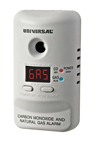 Universal Security Instruments MCND401B M Series Plug-In Carbon Monoxide and Natural Gas Alarm with 9-Volt Battery Backup Style: With Display, Model: MCND401B, Electronics & Accessories Store