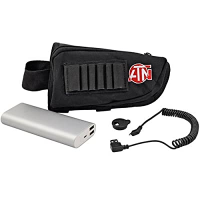 ATN Extended Life Battery Kit 10,000mAh Battery Pack w/USB Connector and Neck strap with battery holder, provides up to 15 hrs of continuous use by Green Supply -- Dropship