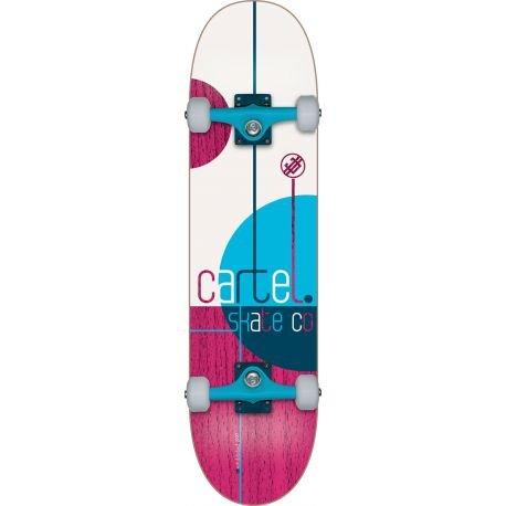 Cartello mkdca8000Skateboard Optic Red 31,5cm, unisex, MKDCA8000, Radial Pink, 31,5 cm