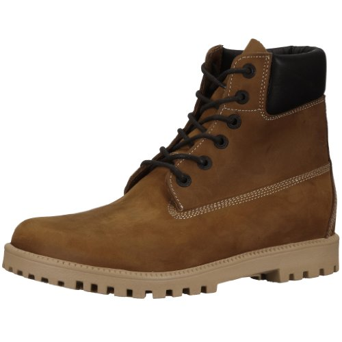 Birkenstock Norton Nubuck Leather, Style-No. 24021, Unisex Boots, Brown, EU 46, normal width