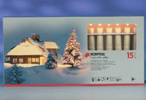 Lichterkette WEIHNACHTSKETTE 15 AUSSEN 9751503000