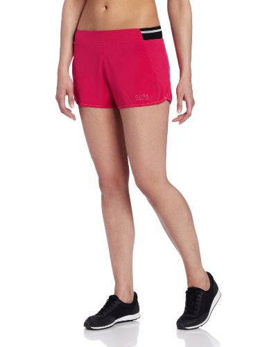 Gore Running Wear Air Women's Shorts red Rosso - bacca rossa / bianco Size:34