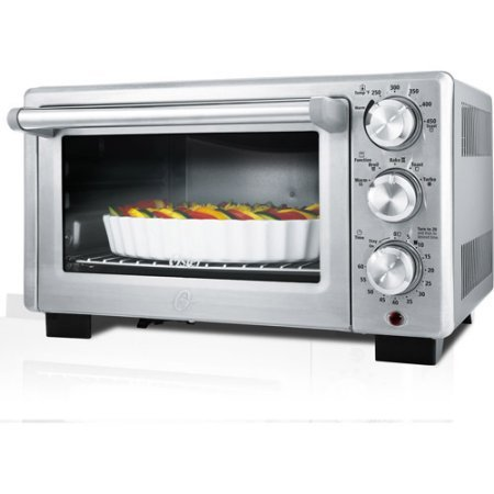 Oster Designed for Life Convection Toaster Oven, Contemporary style and design with brushed stainless steel front (Oster Oven Parts compare prices)