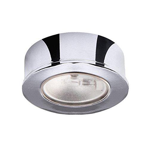 Wac Lighting Hr-88-Ch Low Voltage Round Button Puck Light Finish: Chrome
