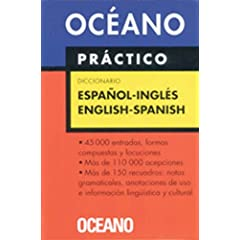 English Spanish dictionaries, Oceano practico diccinario