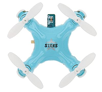 Cheerson CX-Stars Mini 2.4G 4CH 6 Axis Gyro RC Quadcopter UFO Drone with 3D Flips Headless Mode Blue from Cheerson