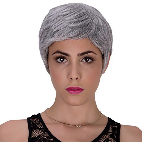 Women (Short Grey Wig)