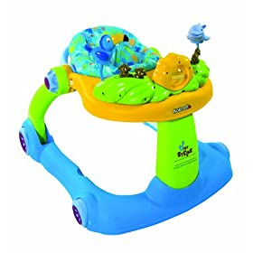 Kolcraft Tiny Steps 2-in-1 Walker, Paradise