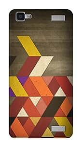 SWAG my CASE PRINTED BACK COVER FOR VIVO V1 MAX Multicolor