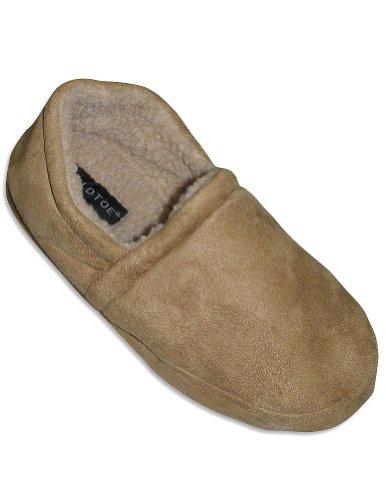 Cheap Goldtoe – Mens Slipper, Tan 27912 (B006YW6DB8)