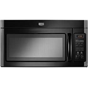 Maytag MMV1164WB 1.6 cu. ft. 1000 Watt Over-the-Range Microwave - Black