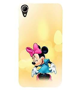 EPICCASE Minnie Rays Mobile Back Case Cover For HTC Desire 828 (Designer Case)