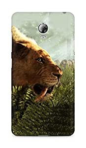 Amez designer printed 3d premium high quality back case cover for Lenovo Vibe P1 (Far cry primal)