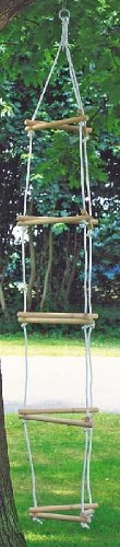 Toys Pure 15 Rung Triangular Rope Ladder