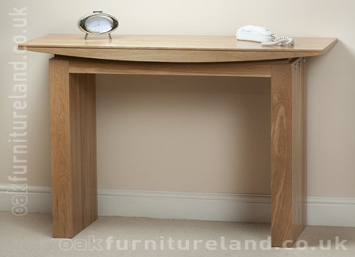 Tokyo Solid Oak Console Table