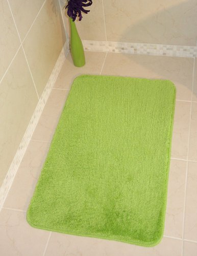 Bolero Lime Green Bath and Pedestal Bathroom Mats Available 527 - Make your own set