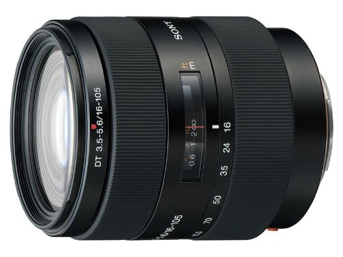 Sony SAL-16105 DT 16-105mm F3.5-5.6 A-Mount Digital Camera Lens