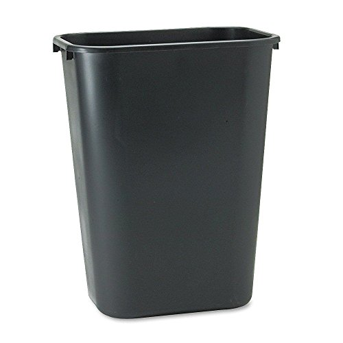 black-rubbermaid-soft-molded-plastic-office-home-kitchen-trash-cans-garbage-bin