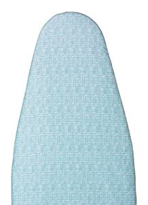 Polder IBC-9554-552 54-Inch Heavy Use Replacement Ironing Pad and Cover, Blue Square Pattern