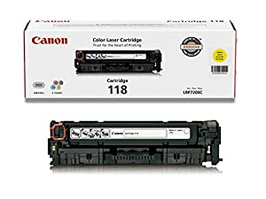 Canon 2659B001AA 118 Laser Cartridge - Yellow