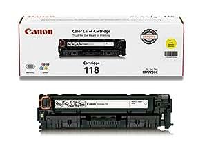 Canon 2659B001AA 118 Laser Cartridge - Yellow
