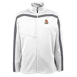Oregon State Angry Beavers Jacket - NCAA Antigua Mens Viper Performance Jacket White by Antigua