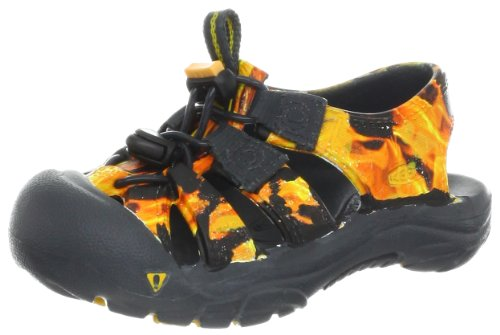 KEEN Sunport Sandal (Toddler/Little Kid/Big Kid),Flame,6 M US Big Kid image