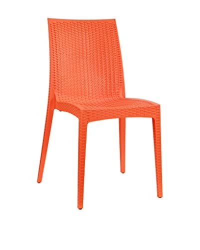 Modway Intrepid Dining Chair, Orange