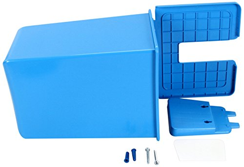 San Jamar Si2000 Blue Saf-T-Ice Scoop Caddy