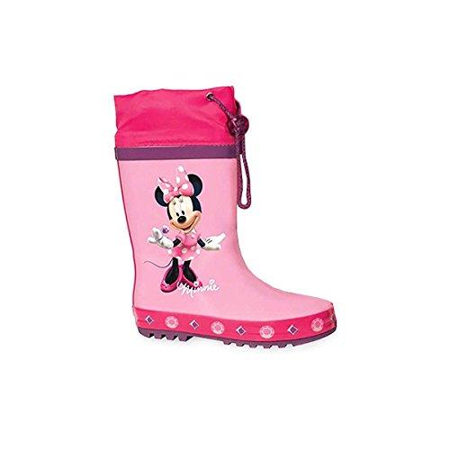 Stivali da pioggia, motivo: Disney, Minnie, Rosa (rosa), 32-33