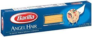 Barilla Angel Hair Pasta 16 oz (Pack of 20)