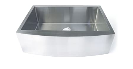 Starstar 33 X 19 Inch Undermount Farmhouse Apron Single Bowl 16 Gauge Stainless Steel Kitchen Sink