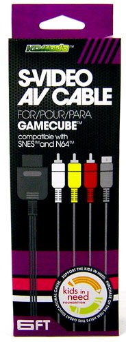 Imagen de Nintendo Gamecube AV Audio / Video / S-Video Cable