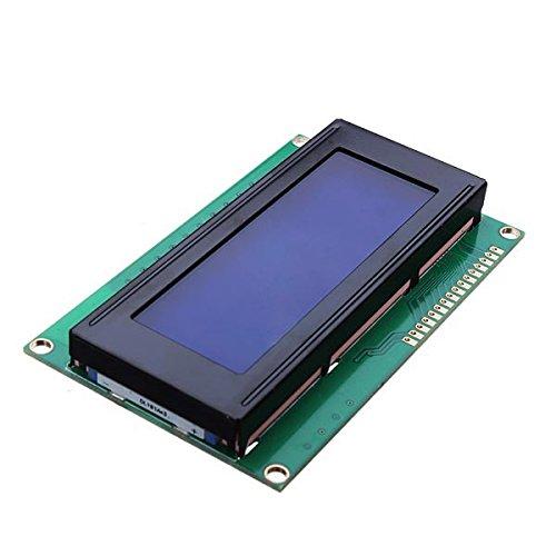 Beautyforall 5V 2004 20X4 204 2004A Lcd Display Module Blue Screen For Arduino