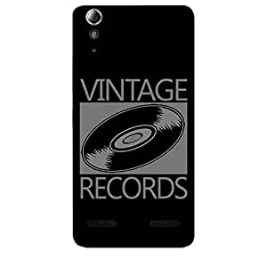 Skin4gadgets VINTAGE RECORDS Phone Skin for LENOVO A6000 PLUS