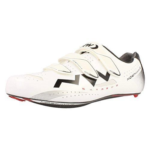 Northwave Extreme 3s, Scarpe da ciclismo uomo, bianco (bianco / nero), 44 EU