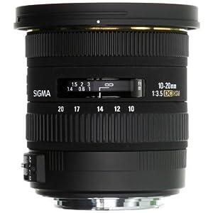 【クリックで詳細表示】SIGMA 広角ズームレンズ 10-20mm F3.5 EX DC HSM ソニー用 APS-C専用