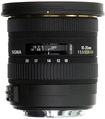 The Electronics World |   Sigma 10-20mm f/3.5 EX DC HSM ELD SLD Aspherical Super Wide Angle Lens for Canon Digital SLR Cameras