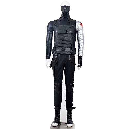 Cosplay Costume Captain America: The Winter Soldier Anime