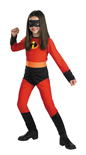 Girls Incredibles Violet Kids Child Fancy Dress Party Halloween Costume