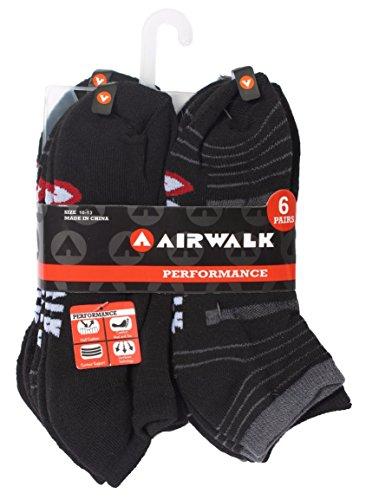airwalk-mens-half-cushion-low-cut-athletic-ankle-socks-6-pair-pack-10-13-black