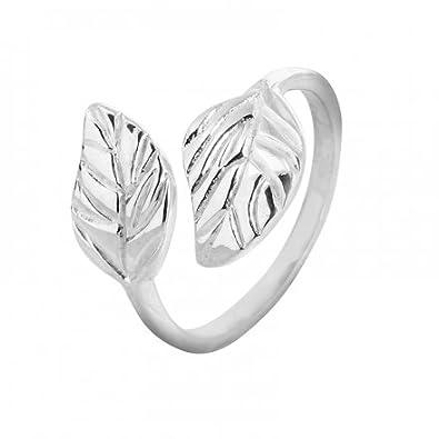 You can anzeigen Weitere Informationen Daten , Lade und Auch untersuchen  Kundenmeinungen Recht vor kaufen CANYON Ring 925er Silber Damen Ring Blatt  R4085. 14f67e2578