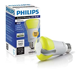 Philips 420224 10-Watt L-Prize Award Winning 60-Watt LED Light Bulb