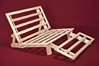Tri-Fold Futon Lounger Bed - Frame Only
