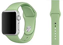 ProElite 42 mm Silicon Wrist Band Strap for Apple Watch - Mint [*Watch NOT included*]